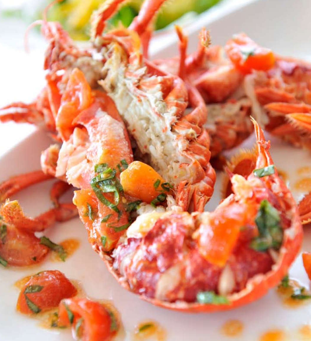 Cornish lobster with a lively